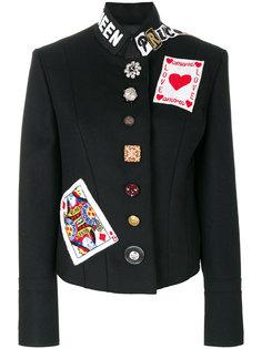 пиджак с декорированными пуговицами Dolce & Gabbana