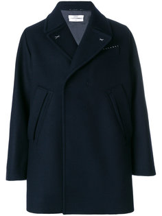 классическое пальто с потайной застежкой Oamc