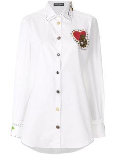 декорированная рубашка Dolce & Gabbana