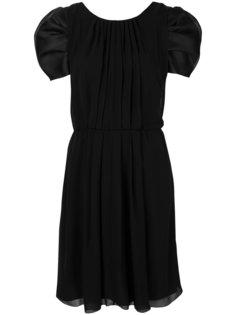 платье со складками спереди  Giorgio Armani