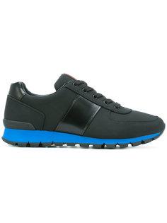 кроссовки со шнуровкой Prada
