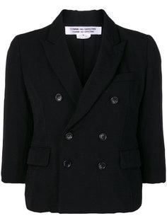 двубортный пиджак  Comme Des Garçons Comme Des Garçons