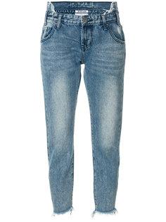 джинсы с выцветшим эффектом One Teaspoon