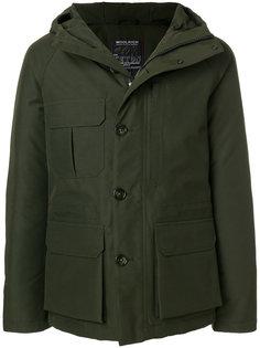 пальто с капюшоном на молнии Woolrich
