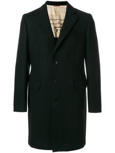 однобортное пальто Al Duca D'Aosta 1902