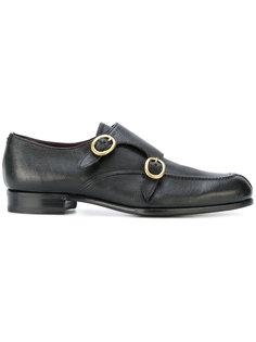 туфли-монки с овальными пряжками Lidfort