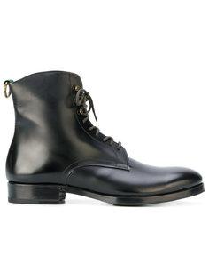 сапоги в стиле милитари со шнуровкой Lidfort