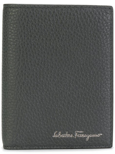 складной бумажник с тиснением Salvatore Ferragamo