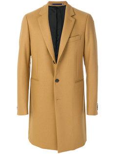 классическое однобортное пальто  Ps By Paul Smith
