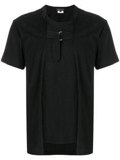 футболка с прияжкой спереди Comme Des Garçons Homme Plus
