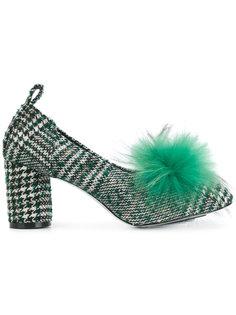 твидовые туфли с помпоном Suecomma Bonnie