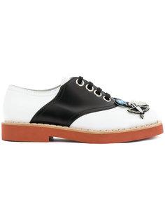 туфли на шнуровке Cupid Miu Miu