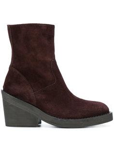 ботинки на молнии Ann Demeulemeester