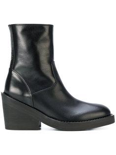 ботинки на массивном каблуке Ann Demeulemeester