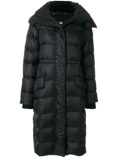 пуховое пальто с капюшоном Canada Goose