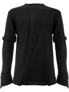 свитер с двойными рукавами Aganovich