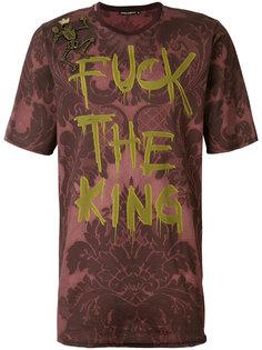 футболка свободного кроя с принтом Dolce & Gabbana