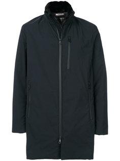 удлиненная куртка на молнии Armani Collezioni