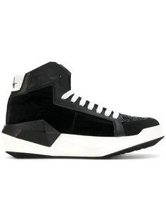 кроссовки на шнуровке Cinzia Araia