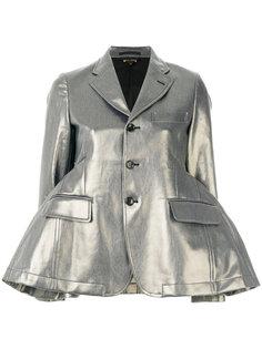 расклешенная куртка с баской Comme Des Garçons