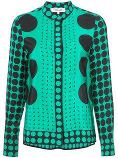 куртка с кругами Dvf Diane Von Furstenberg