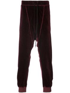 бархатные спортивные брюки Individual Sentiments