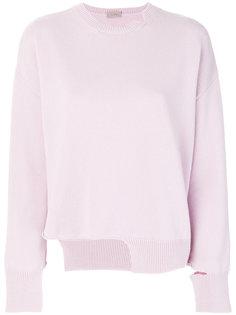 свитер с асимметричным подолом MRZ