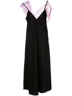 платье с кружевной вставкой Ellery