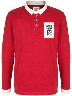 футболка-поло с заплаткой с логотипом Kent & Curwen