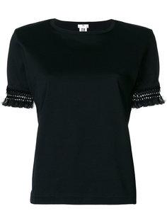 футболка с декорированными рукавами Comme Des Garçons Noir Kei Ninomiya