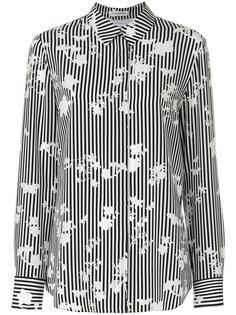 приталенная полосатая рубашка Altuzarra