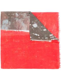шарф с принтом Riccardo Comi