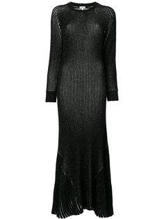 ребристое платье Loewe