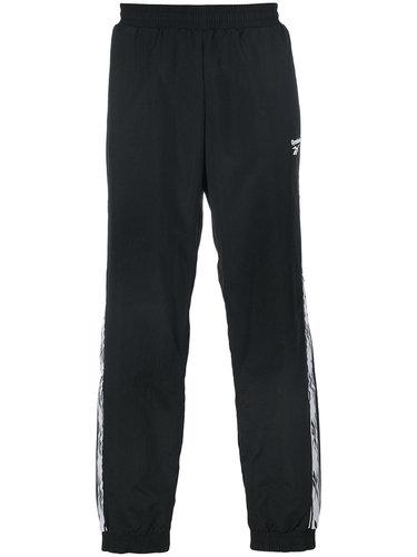 спортивные брюки с полосками по бокам Reebok