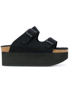 сандалии на платформе Stefano Mortari