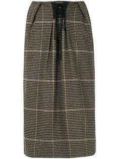 юбка с корсетной стяжкой Push Button
