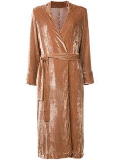 свободное фактурное пальто  Cityshop