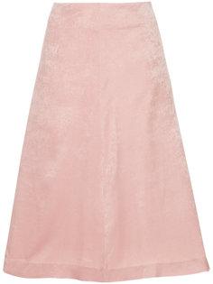 бархатная юбка А-образного кроя Cityshop