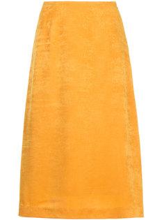 бархатная юбка миди Cityshop