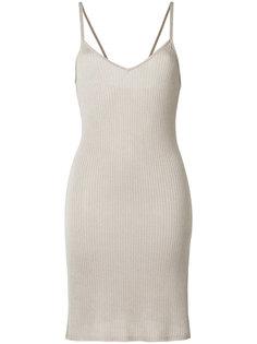 платье в рубчик  Cityshop