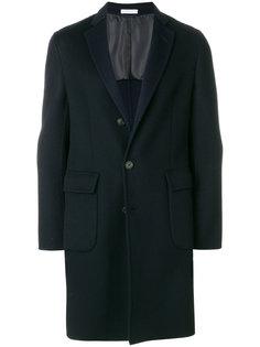 пальто прямого кроя Boglioli