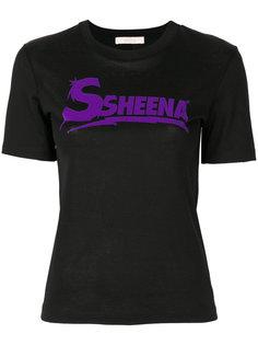 футболка с принтом Ssheena