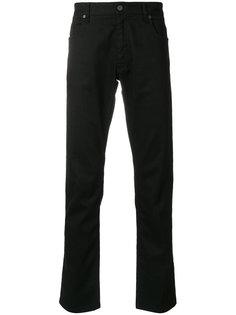 джинсы с вышивкой Fendi