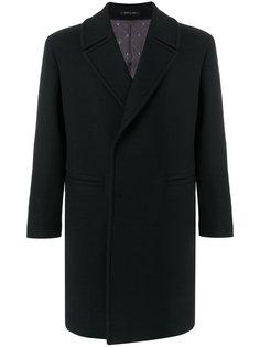 классическое пальто Emporio Armani