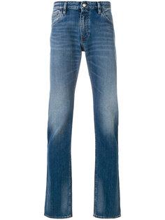 расклешенные джинсы Emporio Armani