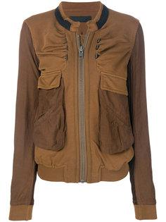 куртка-бомбер с карманами карго  Haider Ackermann