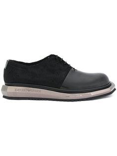 туфли с металлической отделкой Emporio Armani