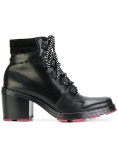 ботинки на шнуровке Armani Jeans
