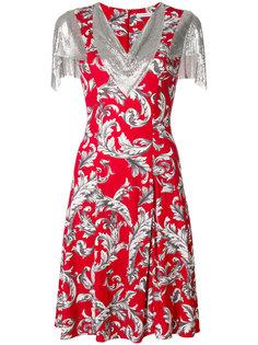 платье с принтом и цепочной отделкой JW Anderson