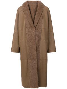 пушистое пальто Sprung Frères